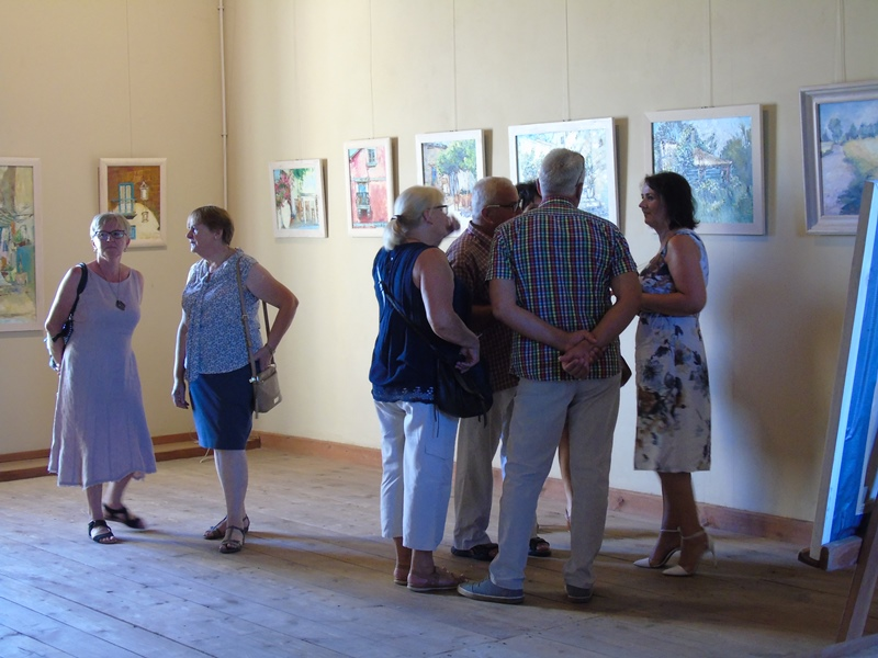 Wystawa malarstwa Elżbiety Jabłońskiej