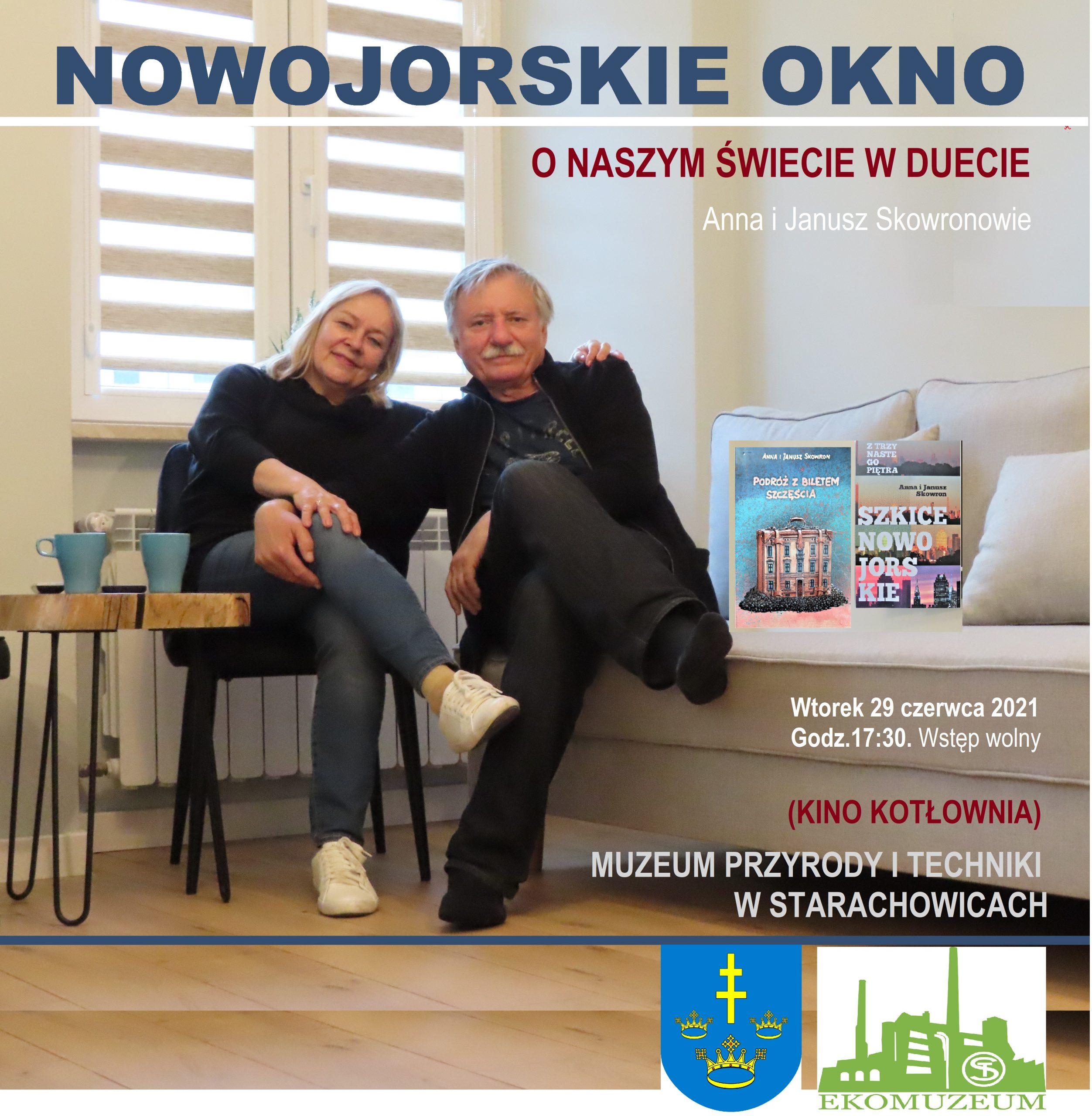 Nowojorskie Okno Janusza i Anny Skowronów